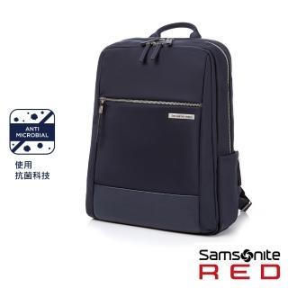 【Samsonite RED】AREE 女性輕量筆電後背包M 14吋(海軍藍)