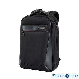 【Samsonite 新秀麗】Vigon II商務收納筆電可擴充後背包S(黑)