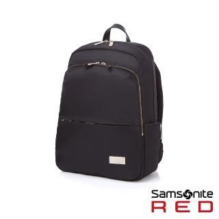 【Samsonite RED】RENY 超輕量尼龍女性筆電後背包13吋(黑)
