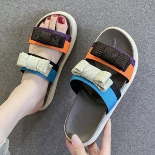 【K.W.】年度精選色彩繽紛涼拖鞋(共3色)