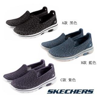 【SKECHERS】女 健走系列 GOWALK 5(15906BKW/15906BLU/15906PUR)