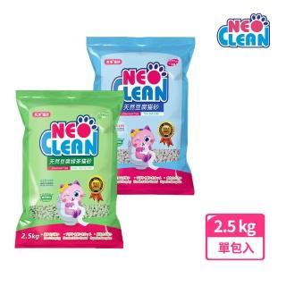 【NEO天淨】天然豆腐貓砂6L-單包入 原味/綠茶(NEO 天淨貓砂 豆腐砂 貓砂)