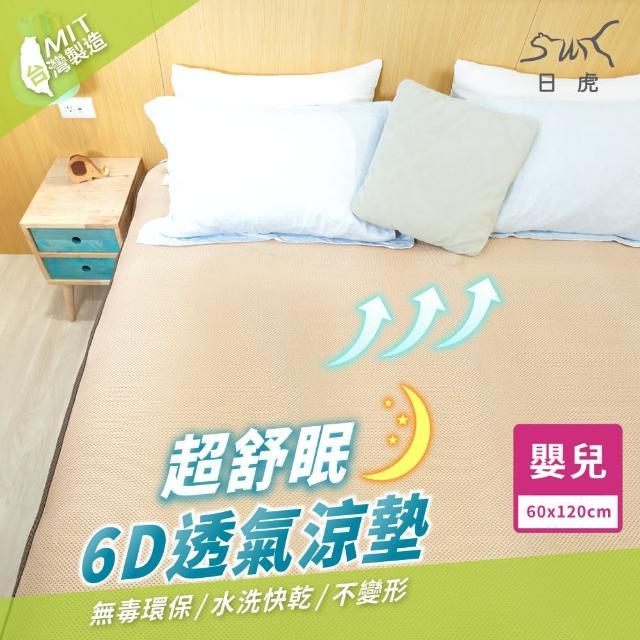 【日虎】MIT超舒眠6D透氣涼墊-嬰兒二入組(可水洗
