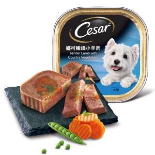 【Cesar 西莎】經典美味全口味餐盒(100g-24入組)