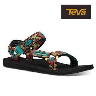 【TEVA】原廠貨 男 Original Universal 經典緹花織帶涼鞋/雨鞋/水鞋(雙極光鑽-TV1004006DDAR)