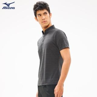【MIZUNO 美津濃】Slim FIT 男款短袖POLO衫 32TA052816(深藍)(POLO衫)