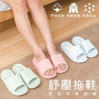 舒適腳底按摩浴室拖鞋(室內拖鞋