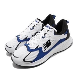 【NEW BALANCE】慢跑鞋 Roav NXT 寬楦 運動 男鞋 紐巴倫 輕量透氣 舒適避震 路跑 健身 白 藍(MRNXTLW2E)