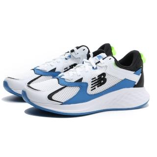 【NEW BALANCE】慢跑鞋 FRESH FOAM ROAV NXT 白藍 網布 輕量 女(WRNXTLW)