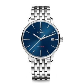 【TITONI 梅花錶】TITONI瑞士梅花錶 LINE1919系列LINE1919_SER機械錶(83919 S-612)