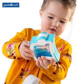 【GuideCraft】觸覺磁力波浪積木-12件(STEAM玩具)