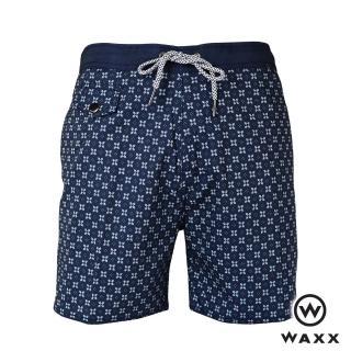 【WAXX】天龍國快乾型男海灘褲-15英吋(海藍色)