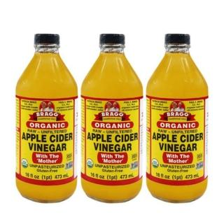 【BRAGG】有機蘋果醋(473ml*3入)/