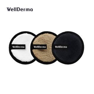 【WellDerma 夢蝸】卸妝海綿(3入組)