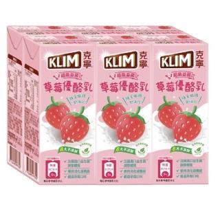 【Nestle 雀巢】克寧國小生優酪乳-草莓口味198mlx2箱(48入組_週期購)
