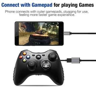 【Bill Case】高規極速5Gbps USB3.0轉Type-C OTG迷你轉接線21公分 鈦極灰(USB IF 會員製造商生產)