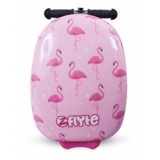 【Zinc Flyte】多功能行李箱滑板車-菲菲紅鶴鳥(有贈品)
