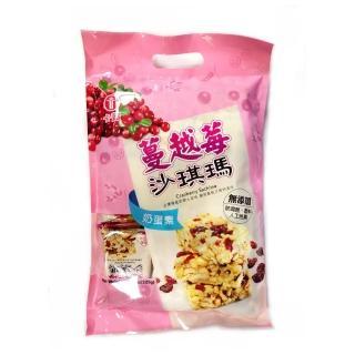 【卡賀】蔓越莓沙琪瑪225g(卡賀 沙琪瑪 餅乾 休閒食品)