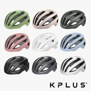 【KPLUS】NOVA 單車安全帽 公路競速型 白/灰/黑 三色(新品上市/安全帽/警示系統/磁扣/單車/自行車)