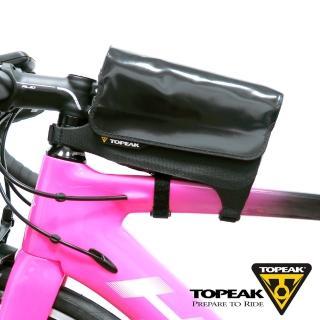 【TOPEAK】Tri DryBag 綁帶式防水便利置物袋/上管包-黑