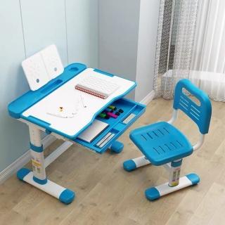 【成長天地】兒童書桌椅套裝 學習桌椅 兒童桌椅 可升降成長桌椅(含LED檯燈款)
