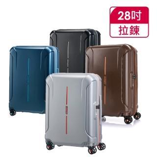 【AT美國旅行者】28吋Technum防刮飛機輪可擴充TSA海關鎖行李箱(多色可選)/