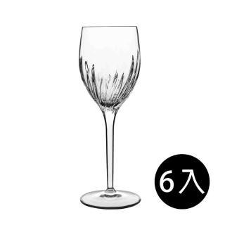 【義大利Luigi Bormioli】古典雕刻白酒杯-275ml(6入組)