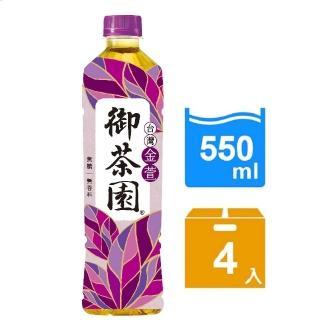 【御茶園】金萱烏龍550ml-4入