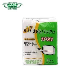 【TOKYU HANDS 台隆手創館】附繩茶包袋(60枚入)