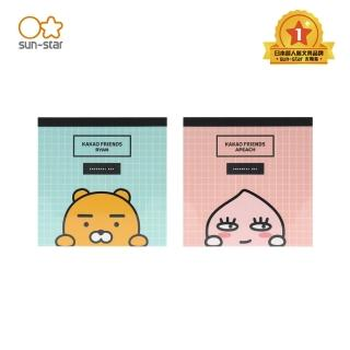 【sun-star】KAKAO FRIENDS 造型便條紙 四款不同圖案(太陽星/正方形便利貼/標籤/小紙條/二款可選)