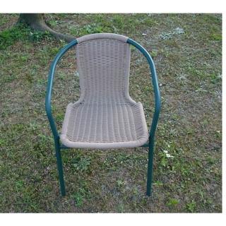 【Brother 兄弟牌】PE藤椅一桌四椅組-綠色(BROTHER兄弟牌)