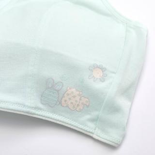 【BeenTeen 嬪婷】學生 ACE ICE纖維系列 S-LL第一階段內衣-涼伴好伸展 觸感優透氣佳 BB1095C6(清爽綠)