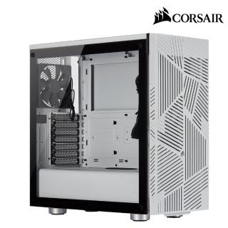 【CORSAIR 海盜船】275R AIRFLOW 電競機殼-白(鋼化玻璃)