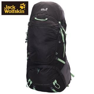【Jack wolfskin 飛狼】Adventure 登山背包 100+20L(黑色)