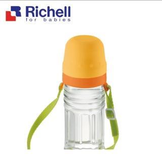 【Richell 利其爾】寶特瓶用雙層杯_附杯(外出時方便攜帶)