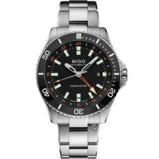 【MIDO 美度】Ocean Star 海洋之星 GMT雙時區 200米潛水機械錶(M0266291105101)