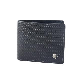 【SINA COVA】老船長牛皮短夾(SC32007-1黑色)