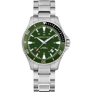 【HAMILTON 漢米爾頓】KHAKI NAVY 卡其海軍系列 SCUBA AUTO機械腕錶(H82375161)