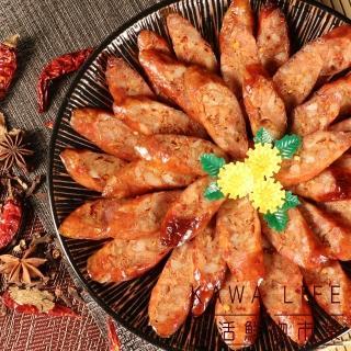 【巧活食品】川味花椒雞肉香腸-加贈1包(250g/包)