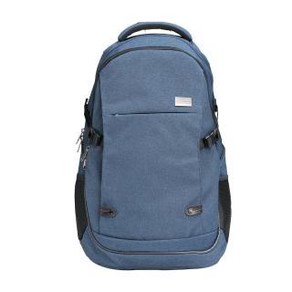 【AOKANA 奧卡納】輕量防潑水護脊電腦商務後背包 背包 包包 68-094