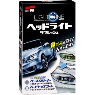 【Soft99】車燈罩去污、保護劑