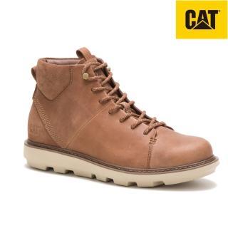 【CAT】BRUSK HI 中筒真皮休閒鞋 男(724444)