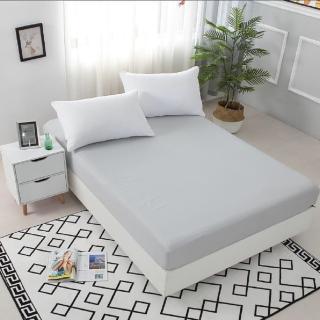 【買一送一】護理級100%防水防蹣抗菌床包式保潔墊(全尺寸任選/均一價)
