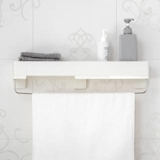 【3M】無痕極淨防水收納系列多用途浴室收納架 免釘免鑽