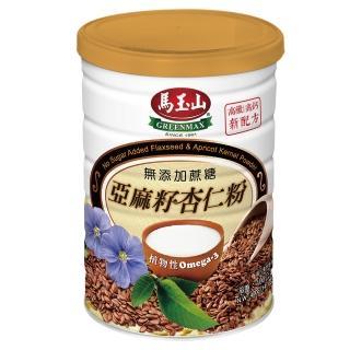 【馬玉山】無加糖亞麻籽杏仁粉(400g/罐)