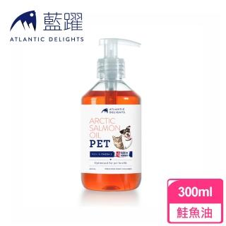 【藍躍】挪威鮭魚油300ml(犬貓適用)