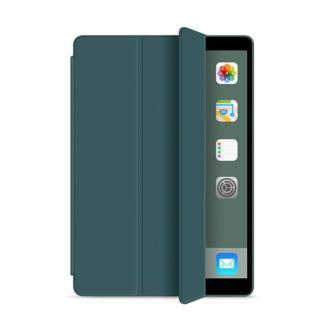 【My Colors】液態膠系列筆槽款 iPad Pro 12.9吋 2020 三折立架 平板保護殼(翻蓋側掀 休眠 喚醒 手感滑順)