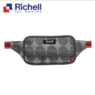 【Richell 利其爾】POUCHU 腰部椅子用固定帶(寶寶外出更安全)