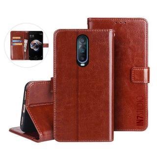 【IN7】瘋馬紋 OPPO R17 Pro 6.4吋 錢包式 磁扣側掀PU皮套 手機皮套保護殼(吊飾孔 插卡皮套)