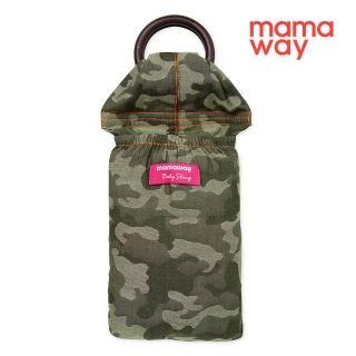 【mamaway 媽媽餵】叢林迷彩育兒哺乳背巾